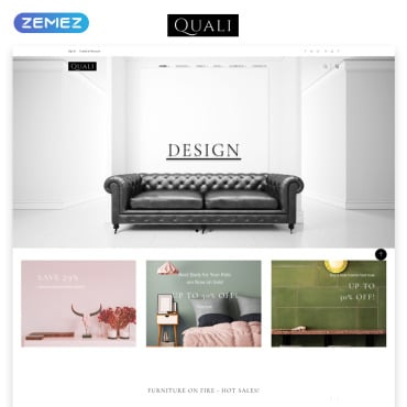 Preview image of Quali - Furniture Multipage Responsive