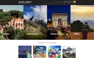 Travel Agency Joomla Template