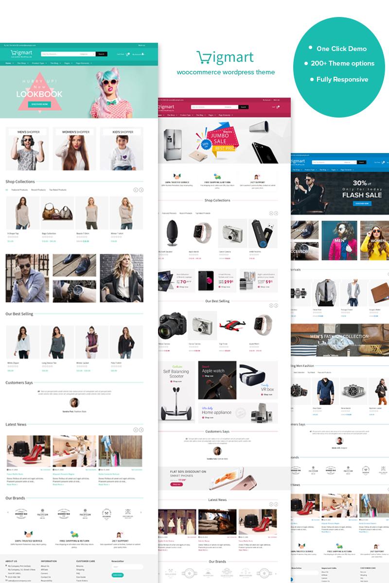 Website Design Template 68581 - store megashop wordpress themeoptions fullwidth digital responsive rtl wpml