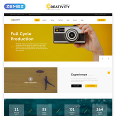 HTML Templates, HTML Web Templates - Template Monster