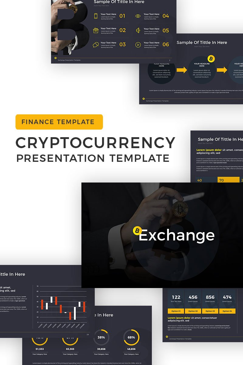 Cryptocurrency - Exchange Presentation №68583