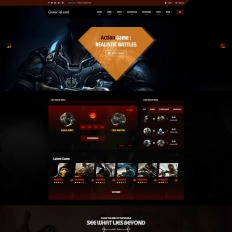 Game Community Website Templates - Template Monster