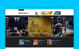 Hashnews - Magazine & Newspaper Website Template