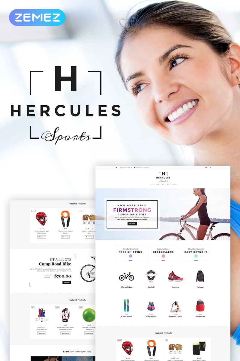 HerculesSports - Sports Equipment and Gear Elementor Tema WooCommerce №68591