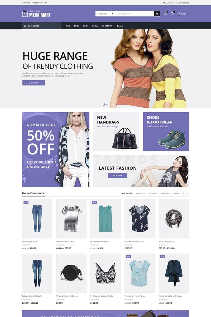Megamart - Multi-Purpose Responsive WooCommerce Theme - screenshot