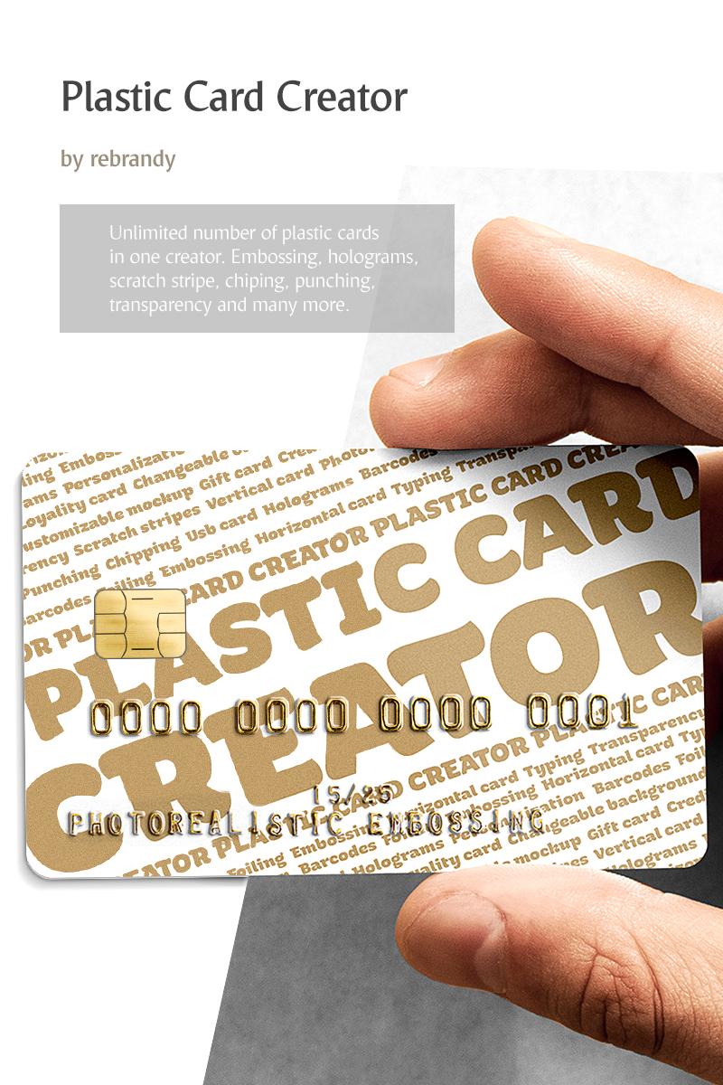 """""""Plastic Card CREATOR"""" bundle  #68562"""