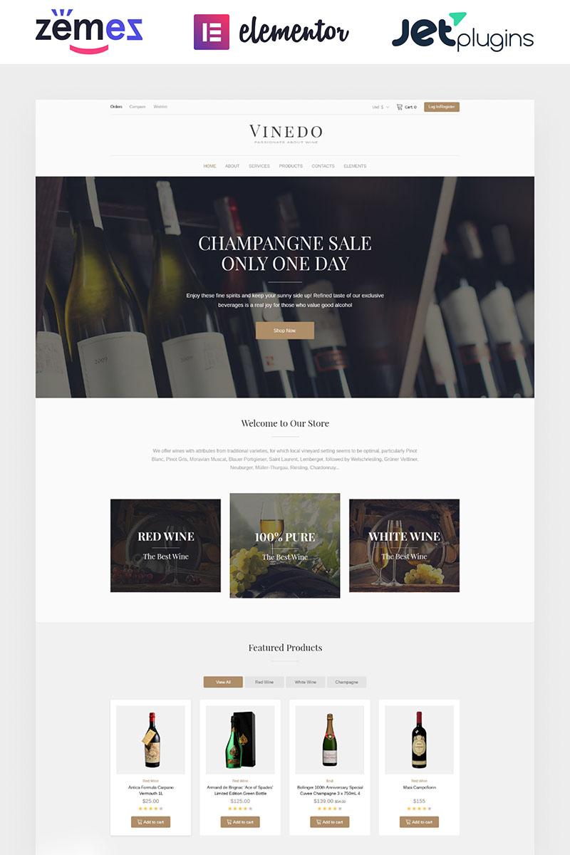 Responsive Vinedo - Vinery Elementor Woocommerce #68518