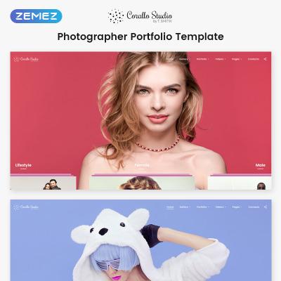 Stock Photo Responsive Šablona Webových Stránek