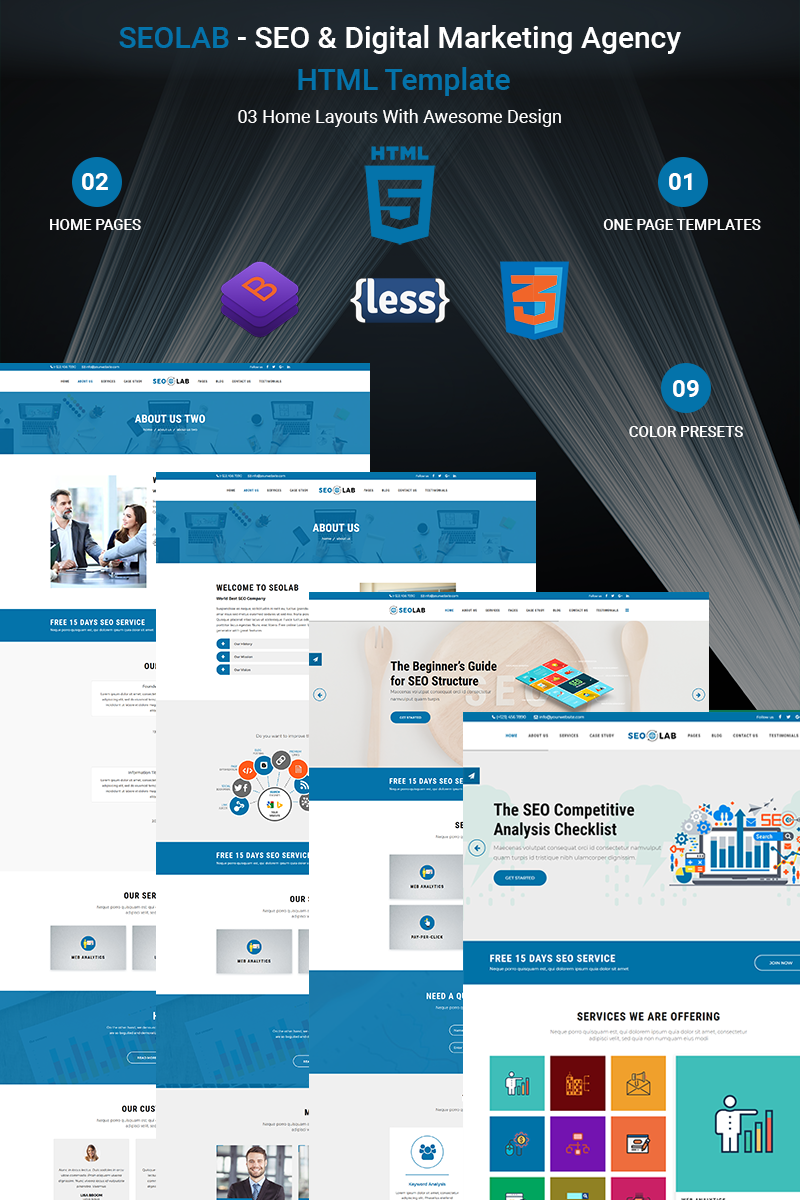 Seolab Seo Digital Marketing Agency Website Template 68551 Big