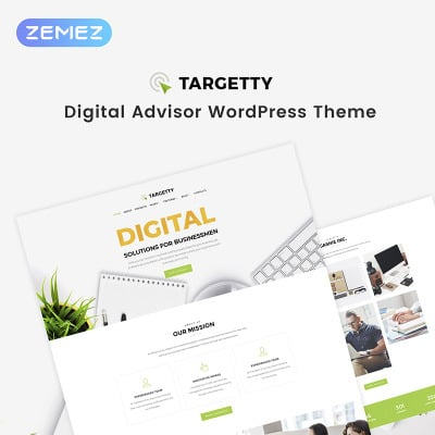 Tema de WordPress #68561 para Sitio de Agencias de publicidad