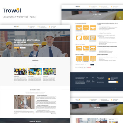 Tema de WordPress #53372 para Sitio de Arquitectura