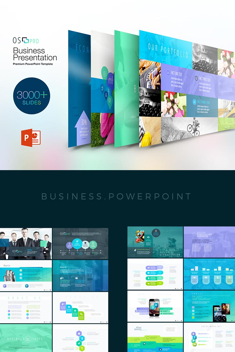"Template PowerPoint #68593 ""iOS:Pro PowerPoint"""