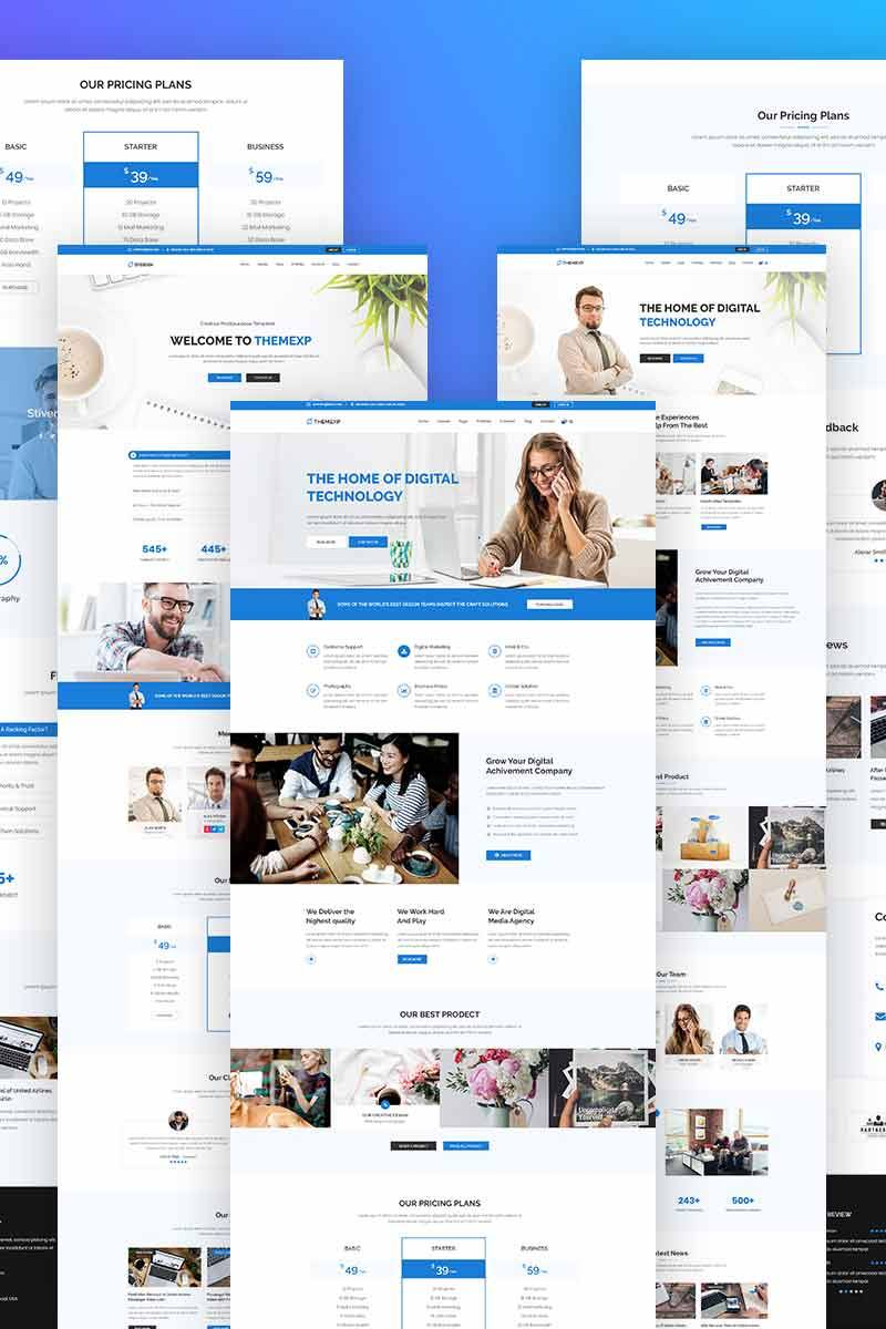Themexp - Corporate Responsive WordPress Theme - screenshot