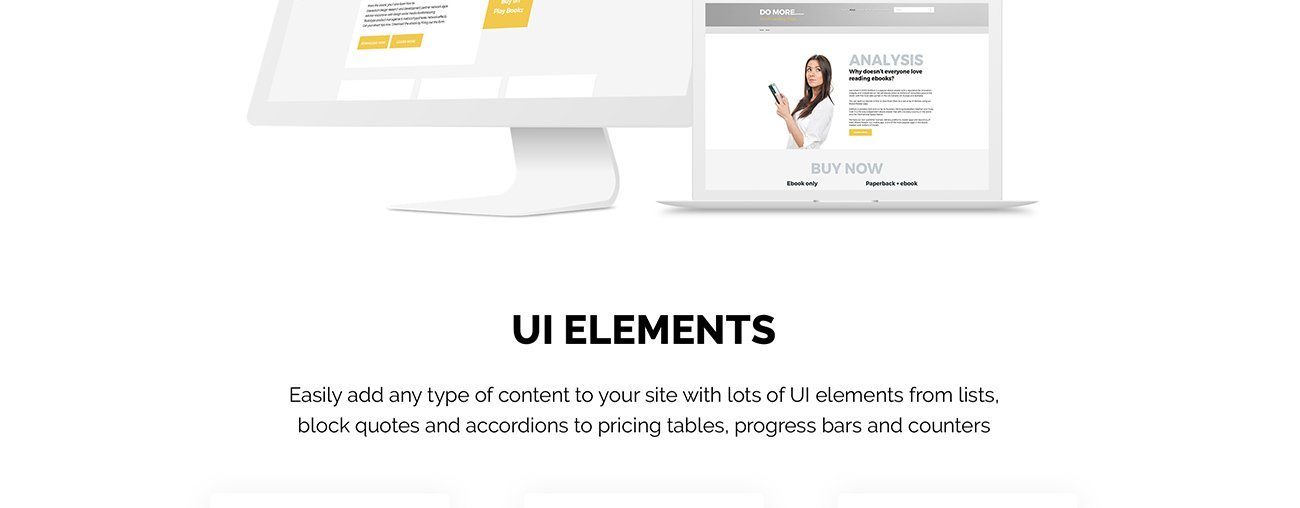 Ebook landing page joomla template 68668 this ebook landing page joomla template is a professional adaptive solution it has spectacular animation and beautiful bright design fandeluxe Image collections