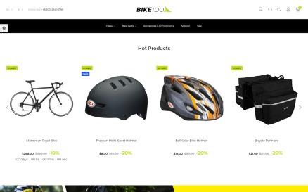 BikeIdol - Bike Shop PrestaShop Theme