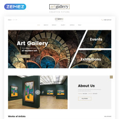 Responsive Artist Portfolio Website Templates - Artist portfolio website templates