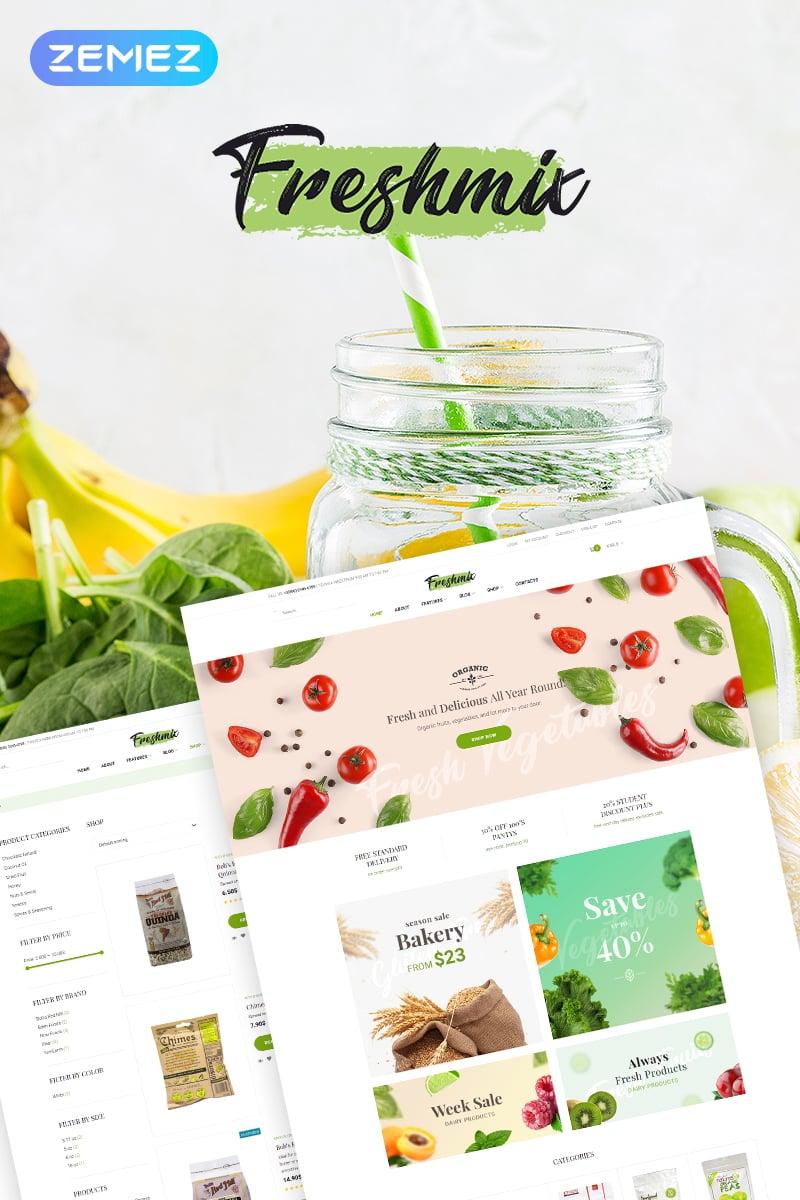 Freshmix - Organic Food Online Store Elementor WooCommerce Theme - screenshot
