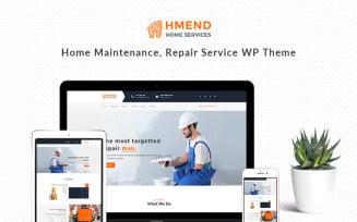 Hmend - Home Maintenance, Repair Service WordPress Theme