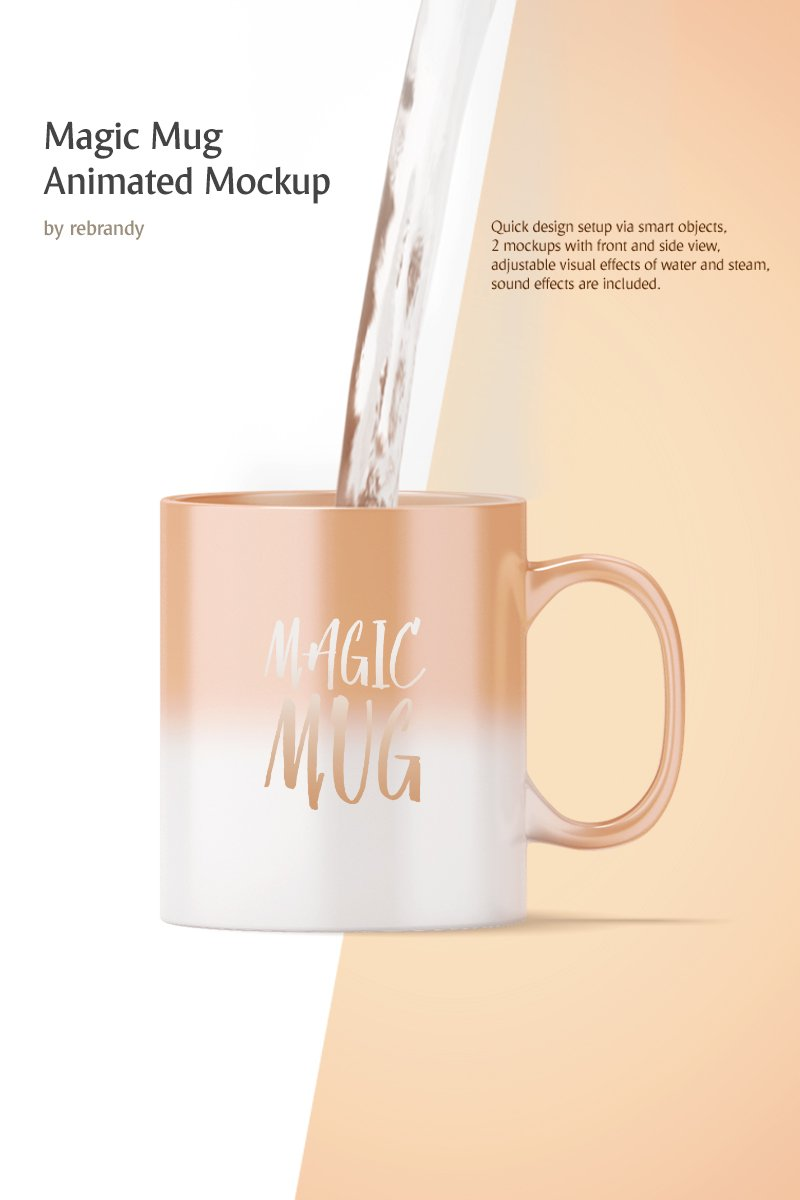 """Magic Mug Animated"" Product Mockup №68695"
