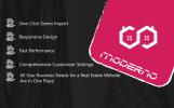 """Moderno - Real Estate Premium"" Responsive WordPress thema"