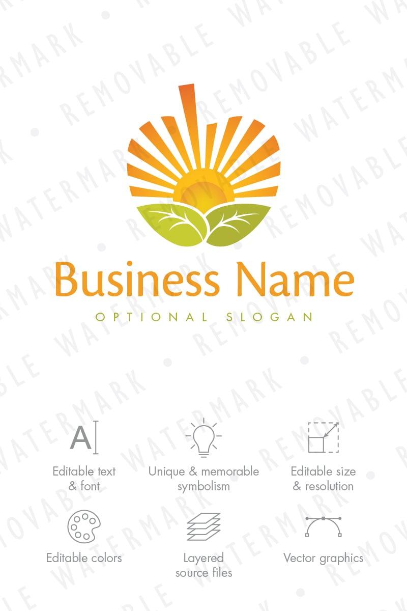 Plantilla de Logotipo #68627 para Sitio de Agricultura