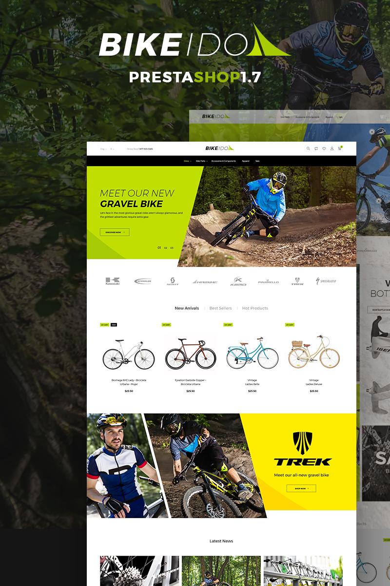 Responsivt BikeIdol - Bike Shop PrestaShop-tema #68686