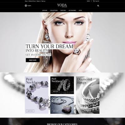 Template per siti di gioielli for Siti cinesi gioielli