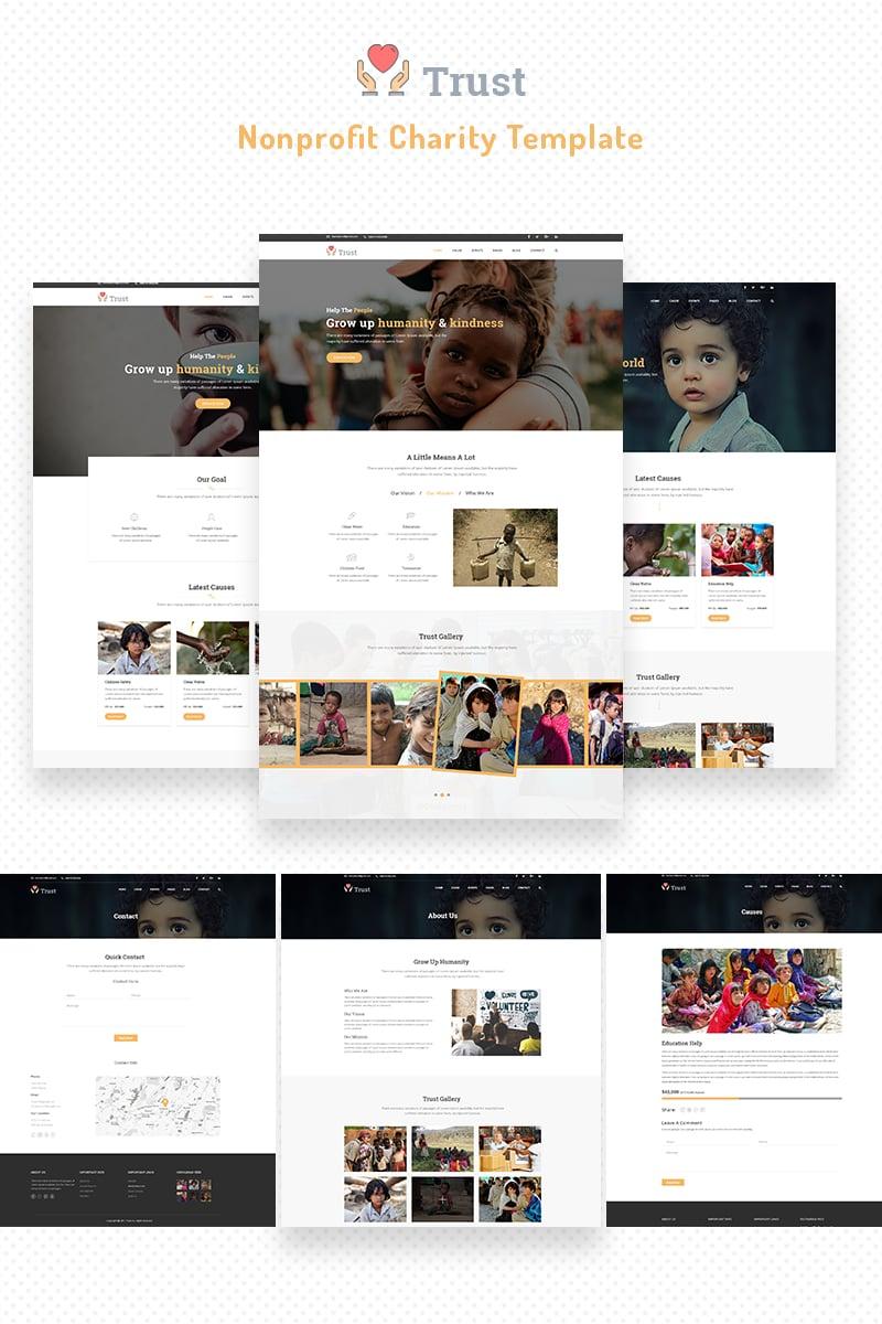 Website Design #68710 Charity Donate Donation Custom Website Design ...
