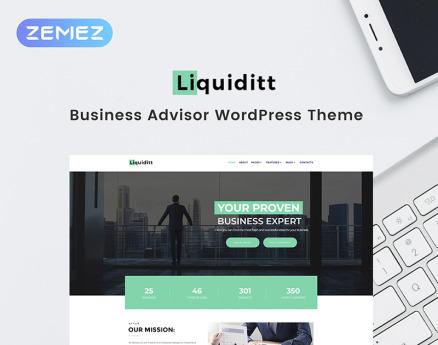 Liquiditt - Business Consulting Elementor WordPress Theme