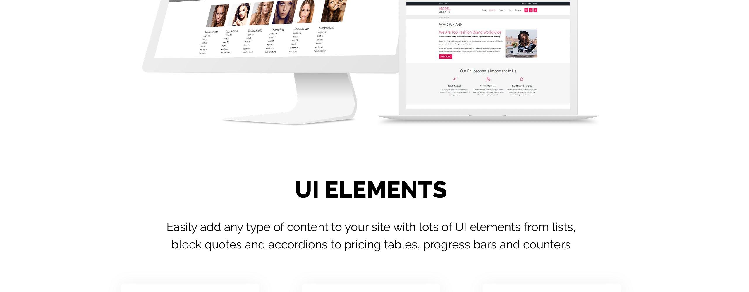 Website Design Template 68721 - beauty girls service portfolio blog portal.     f0a612d7cb9f