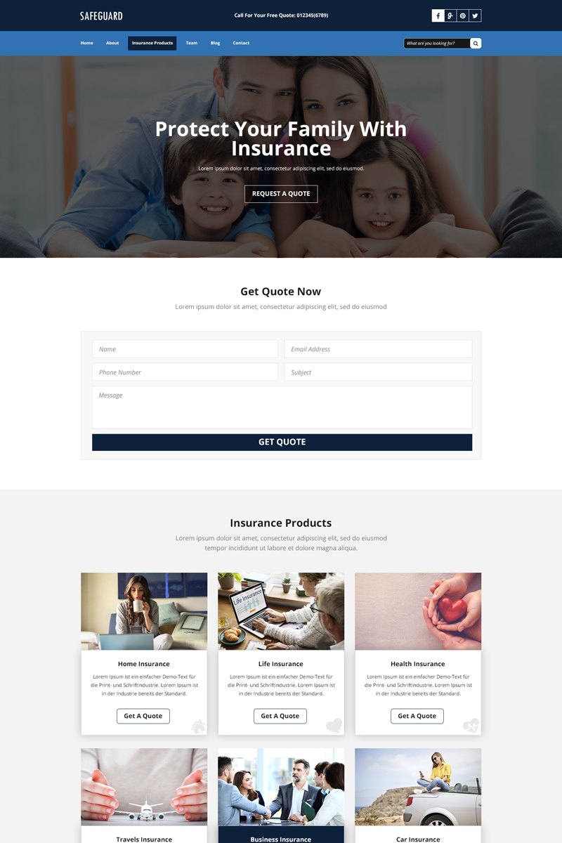 SAFEGUARD for Insurance Services