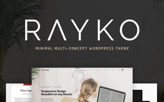Rayko - Minimal Multi-Concept WooCommerce Theme