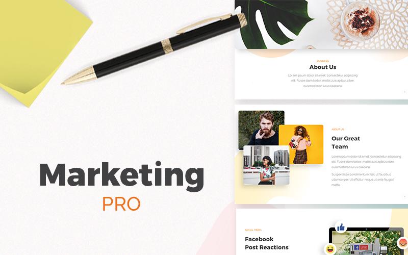 Marketing PRO Presentation PowerPoint Template