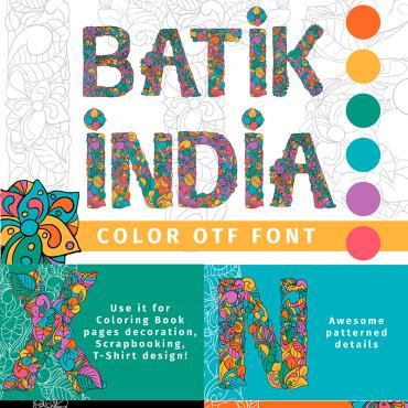 Batik India Color OTF