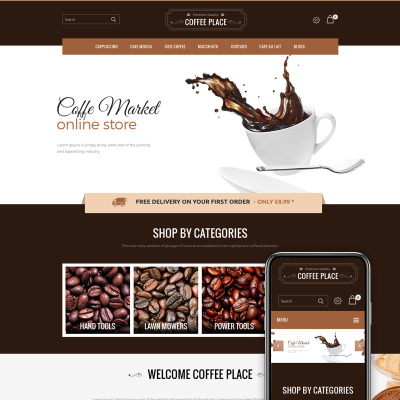 Cafe OpenCart Template