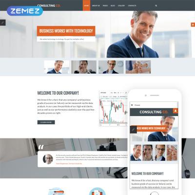 327 best joomla business templates template monster flashek Choice Image