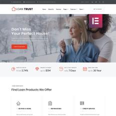 loan trust mortgage company elementor