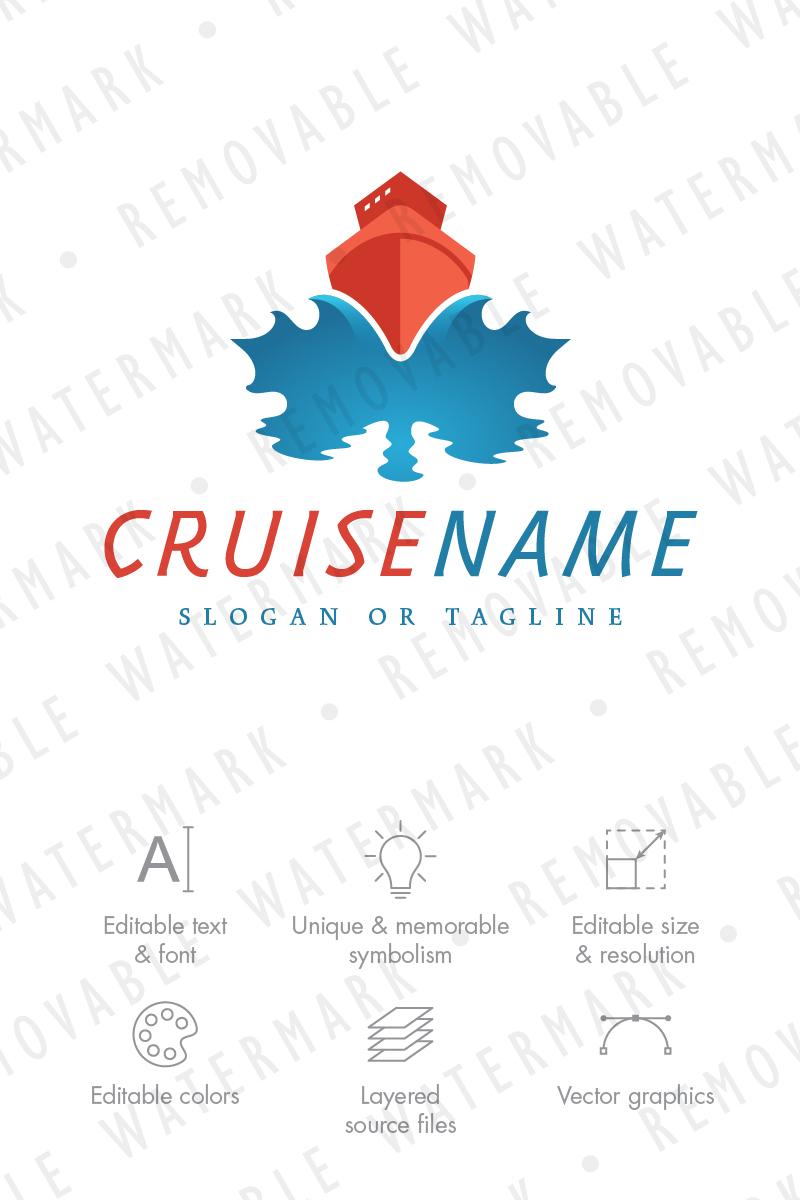 Maple Leaf Cruise Logo Template #68791