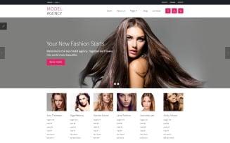Model agency + VM Joomla Template