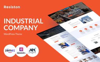 Resiston - Industrial Company WordPress Elementor Theme
