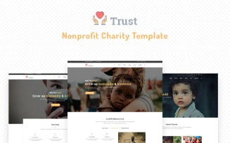 Trust – Nonprofit Charity Website Template