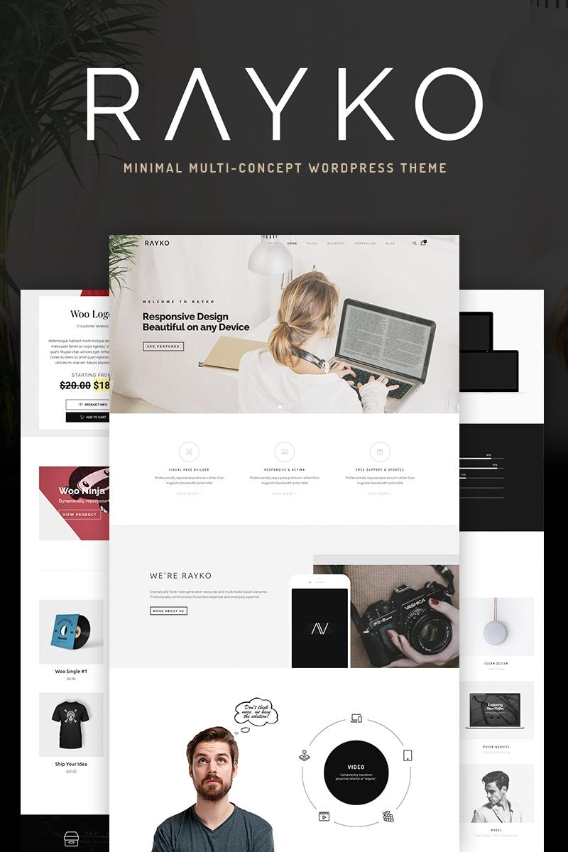 WPML-redo Rayko - Minimal Multi-Concept WooCommerce-tema #68766