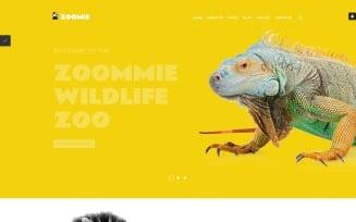Zoomie - Wildlife Zoo Joomla Template