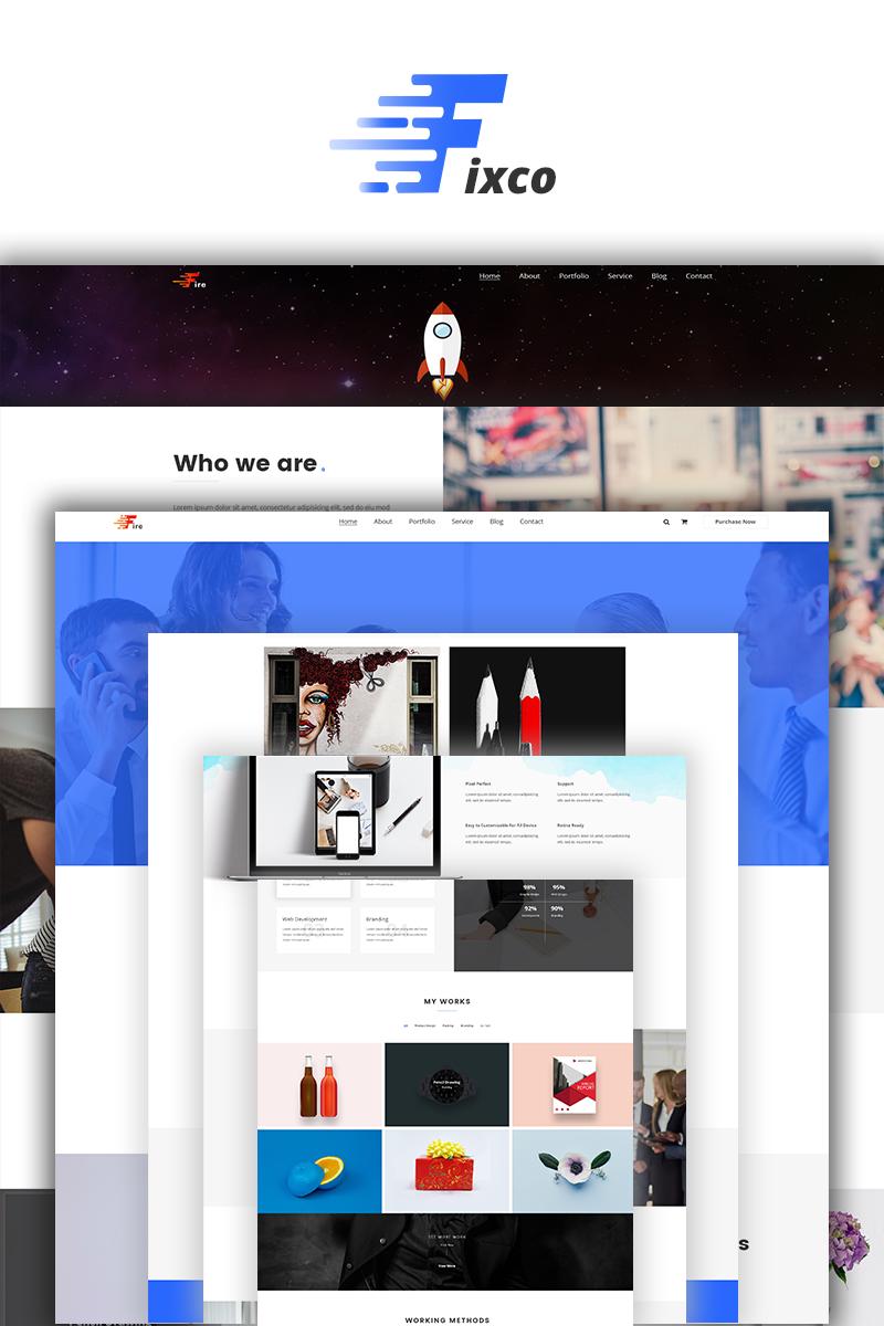 Fixco - Multipurpose Bootstrap4 Website Template