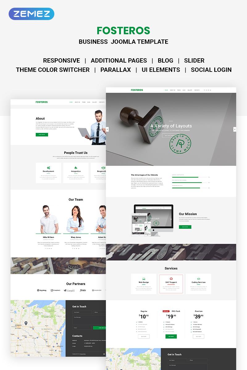 Fosteros - Business Joomla Template