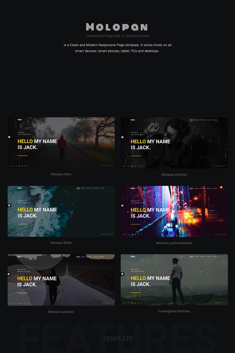 molopan - portfolio | Bootstrap 4 Website Template - screenshot