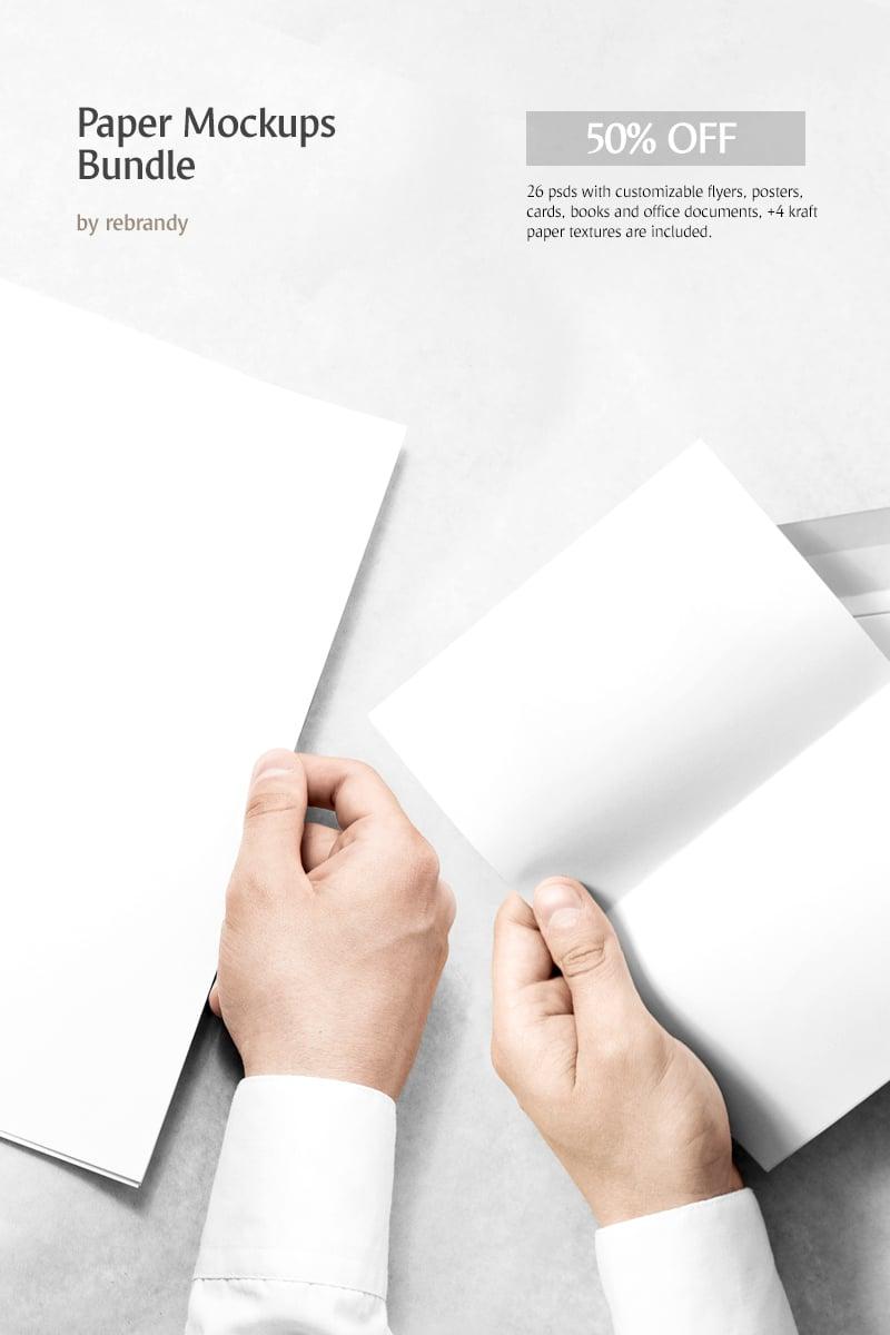 """""""Paper Mockups"""" bundle  #68855"""