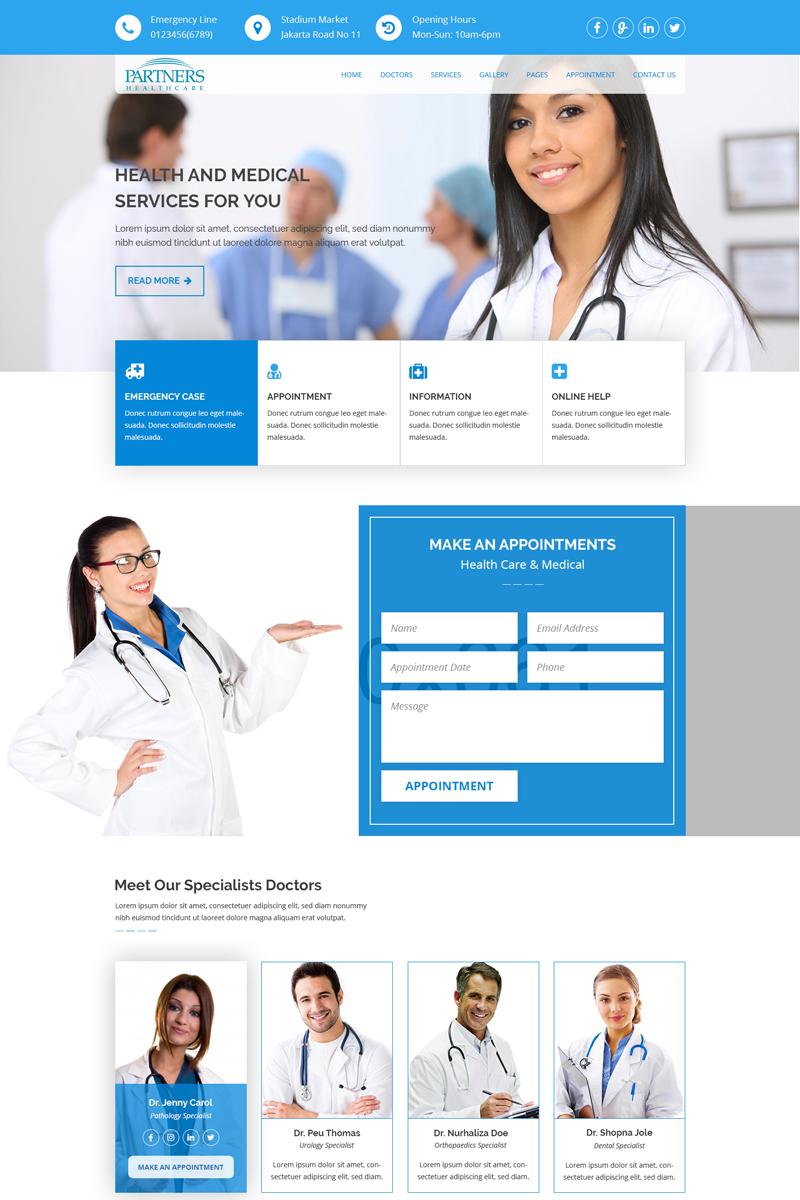 "PSD Vorlage namens ""HealthCare - Medical Health"" #68810"