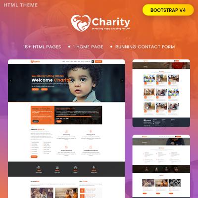Charity Templates | TemplateMonster