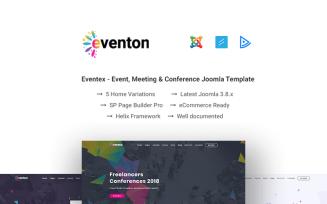 Eventon - Event / Conference Joomla Template